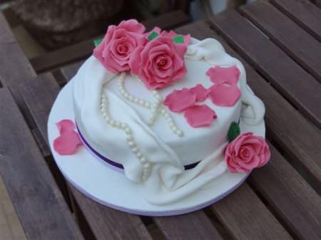 Torta di rose | Ricette della Nonna