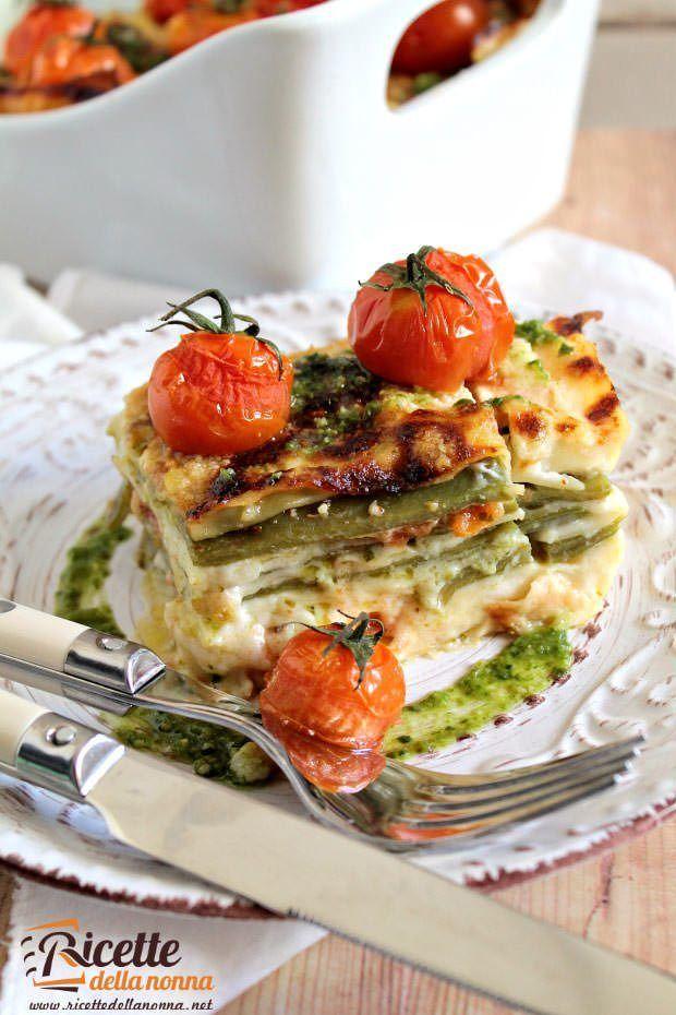 Lasagne ai piattoni ricetta e foto