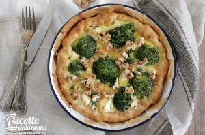 Torta salata ai broccoli