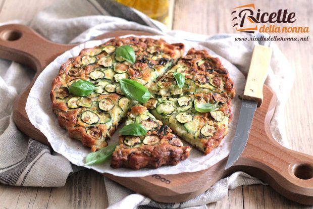 Scarpaccia salata di zucchine ricetta e foto