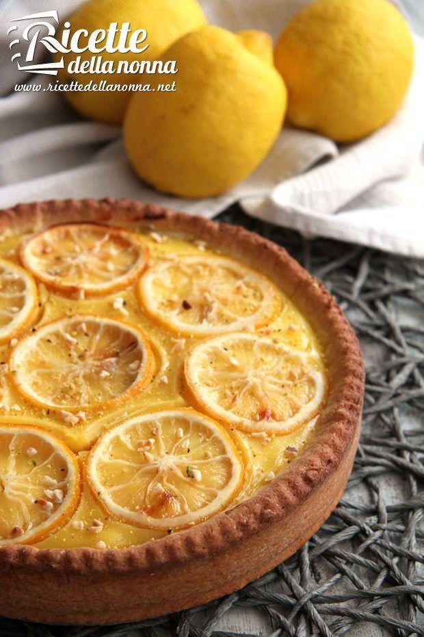 Torta alla crema di limone ricetta e foto