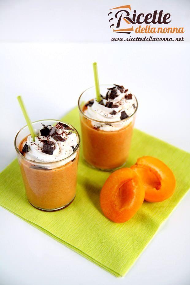 Foto dessert di albicocche