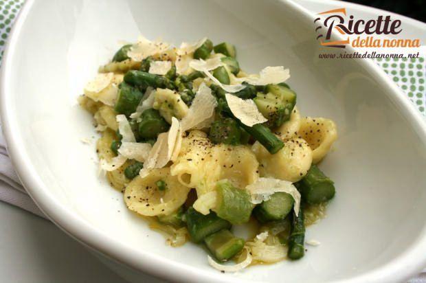 Orecchiette agli asparagi ricetta e foto