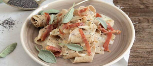 Ricetta lasagna ai semi di papavero