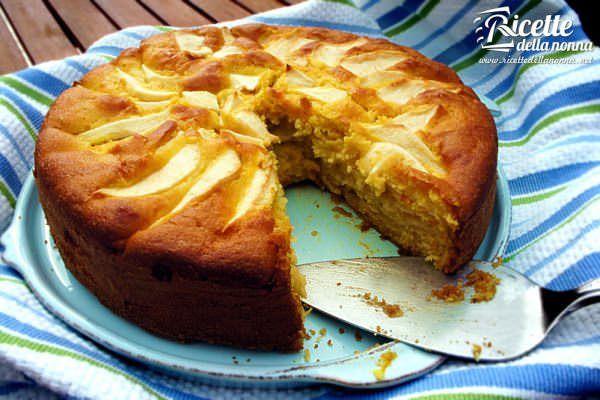 Torta di mele e marmellata di mandarino