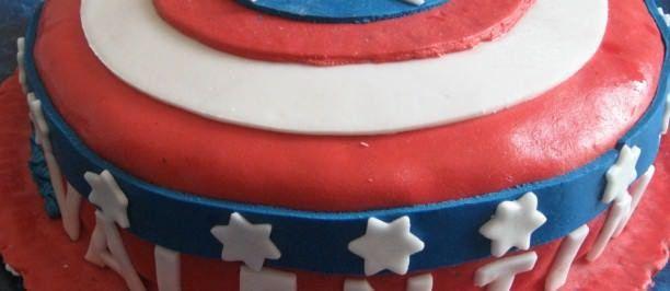 torta capitan America