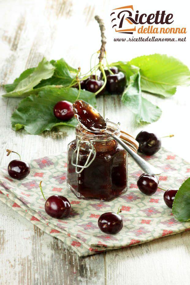 Marmellata di ciliegie ricetta e foto
