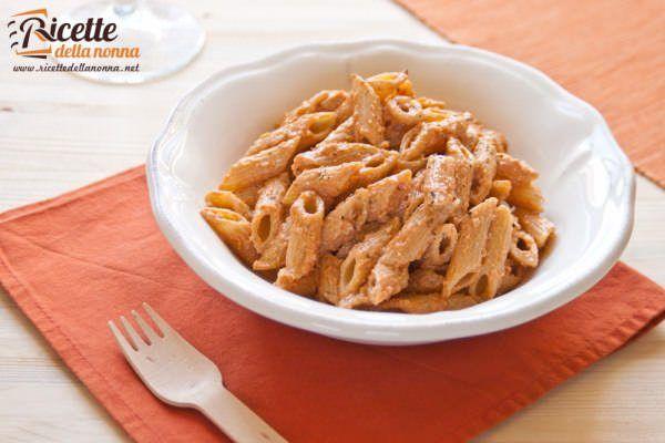 Pasta col pesto alla siciliana