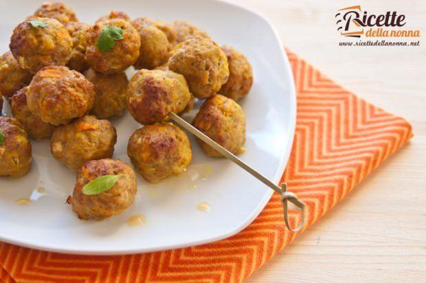 Polpettine di pollo al curry ricetta e foto