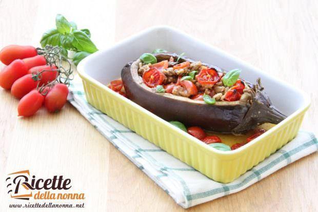 melanzane ripiene vegetariane