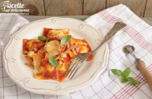 Ravioli al sugo all'Amatriciana
