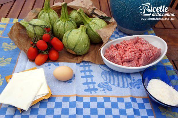 zucchine ripiene carne