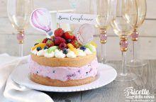 Torta estiva di compleanno