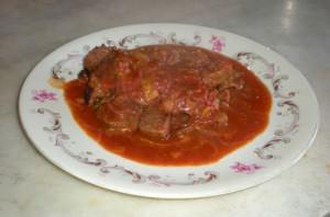Spezzatino di manzo con paprika