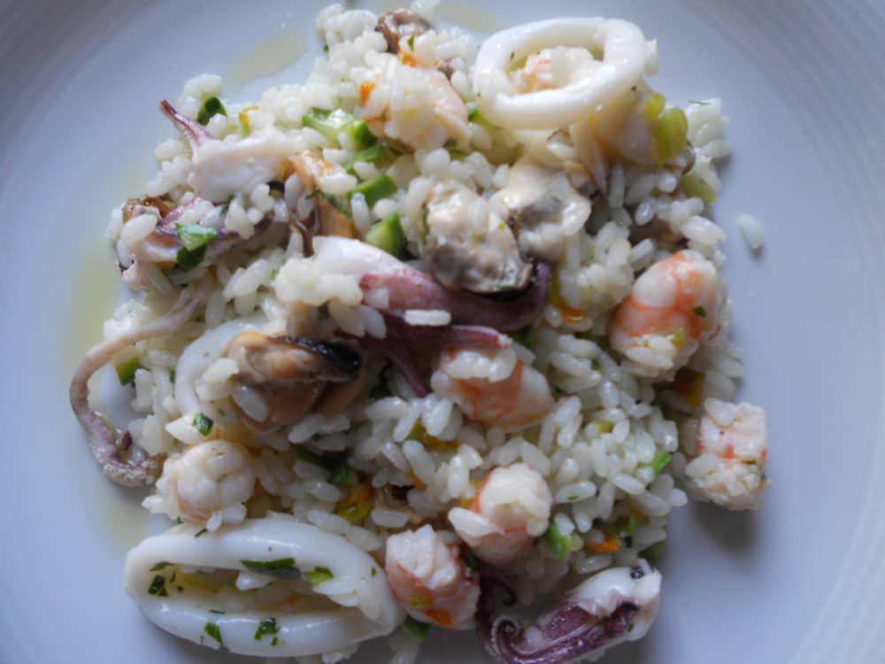 Insalata di riso ai frutti di mare ricette della nonna for Ricette di riso