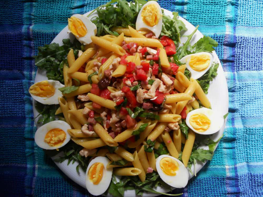 Insalata di pasta speziata ricette della nonna for Pasta ricette