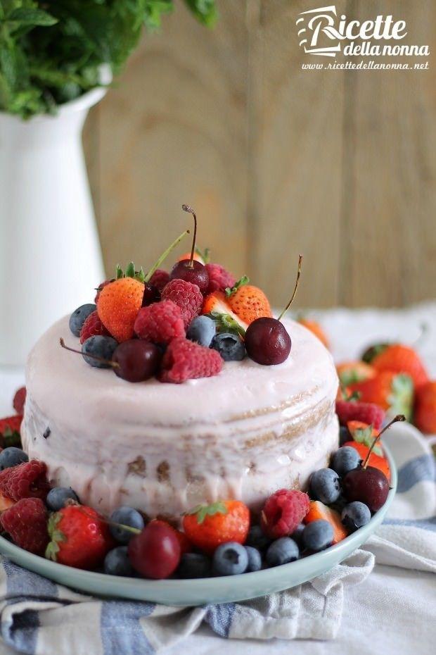Torta gelato ricetta e foto