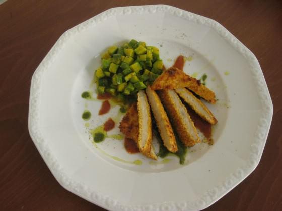 Cotoletta di pollo ricetta e foto