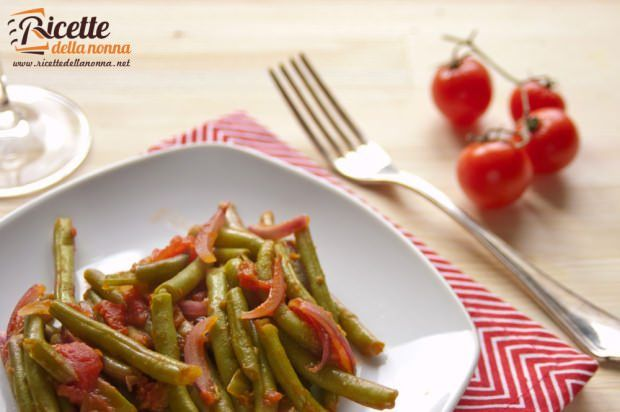 fagiolini pomodoro