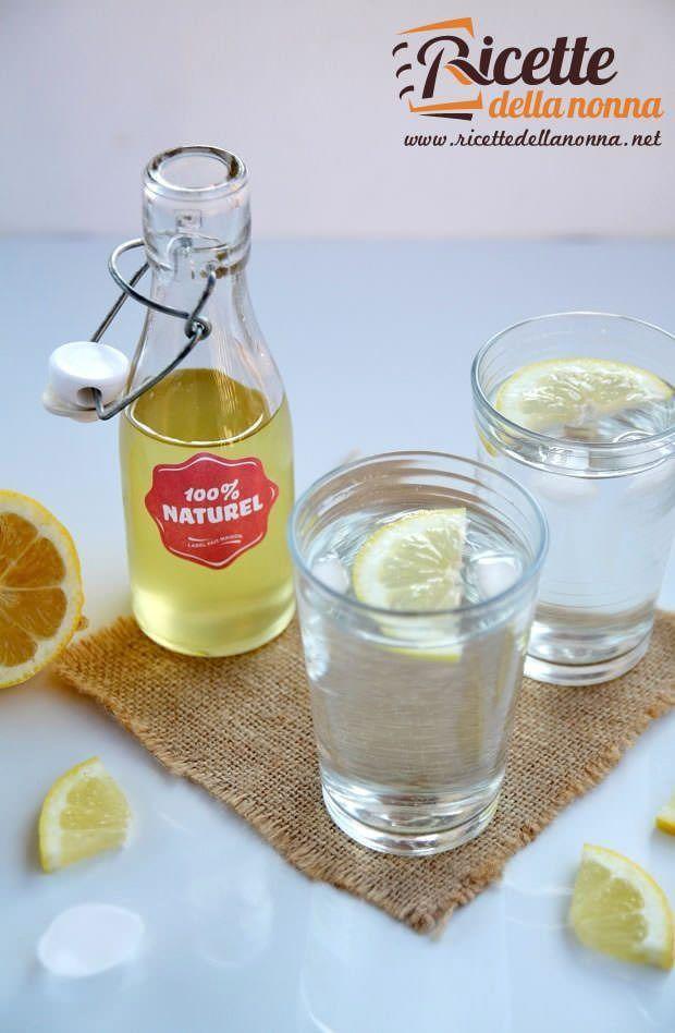 Foto sciroppo al limone