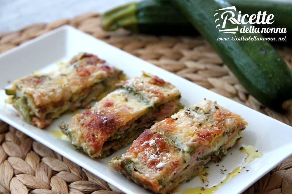 Parmigiana di zucchine ricette della nonna for Ricette primi e secondi piatti