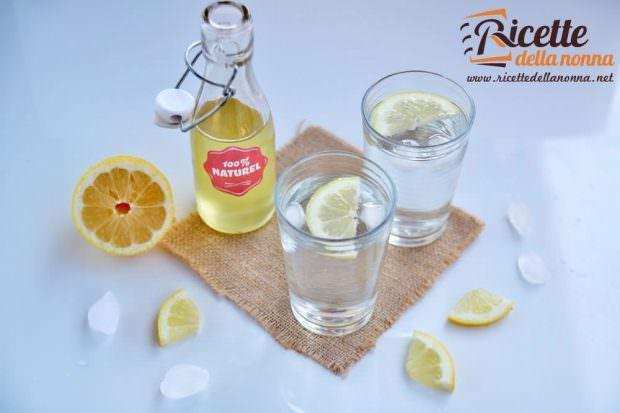 Ricetta sciroppo al limone