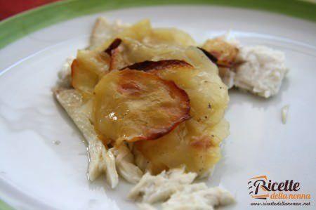Ricetta rombo al forno con le patate