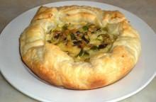 Torta salata con verdure grigliate