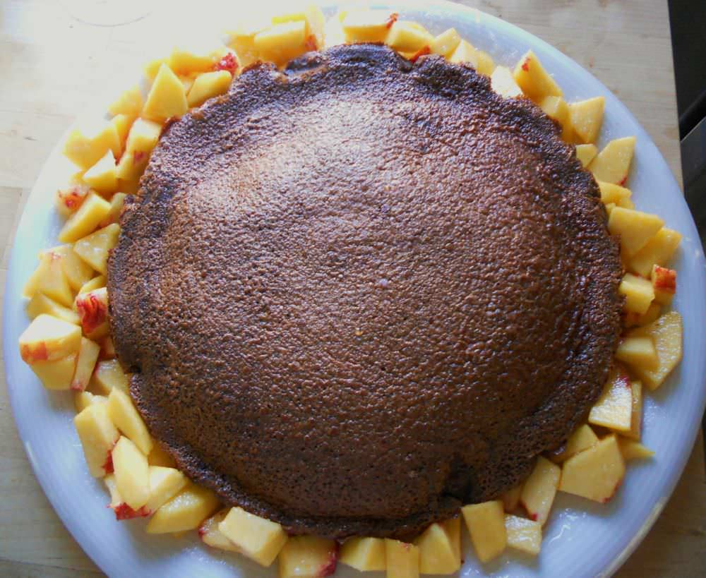 Torta di cioccolato e latte di riso ricetta e foto
