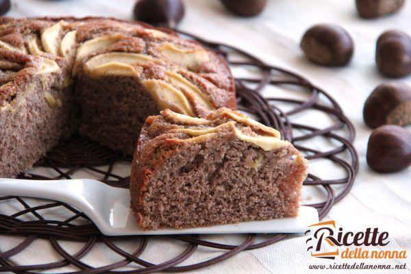 Torta rustica alle mele e crema di marroni