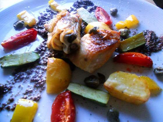 Anche di pollo al forno ricetta e forno