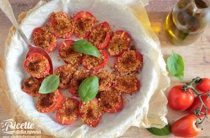 Pomodori gratinati al forno