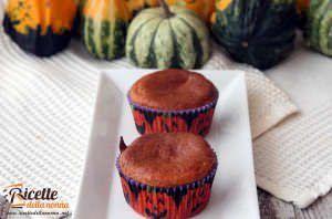 Muffin alla zucca e cannella