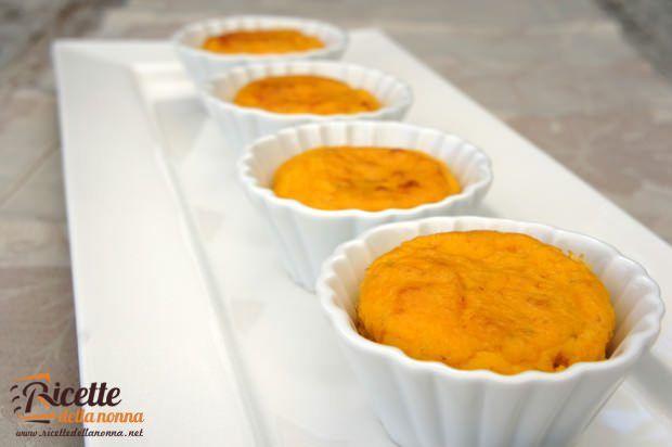 Muffin zucca e gorgonzola ricetta e foto
