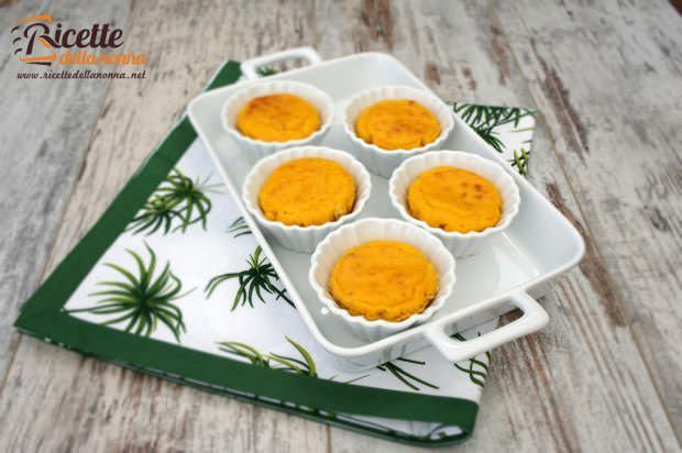 muffin zucca gorgonzola