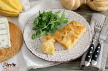 Scrigni di zucca, gorgonzola e cotto