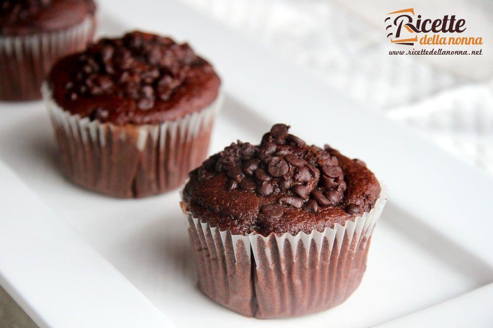 Ricetta Muffin Semplice.Muffin Al Cioccolato Ricetta Facile E Veloce Ricette Della Nonna
