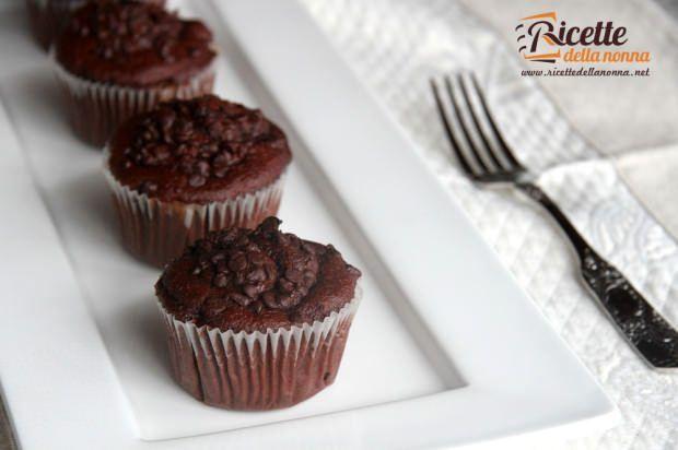 Muffin al cioccolato ricetta e foto