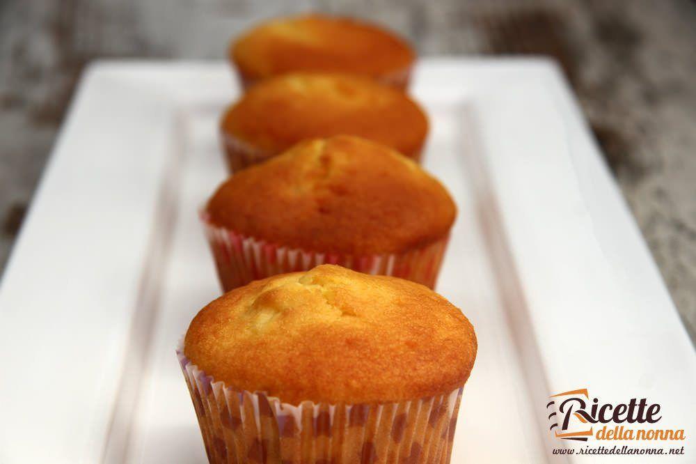 Ricetta Muffin Semplice.Muffin Allo Yogurt Ricette Della Nonna