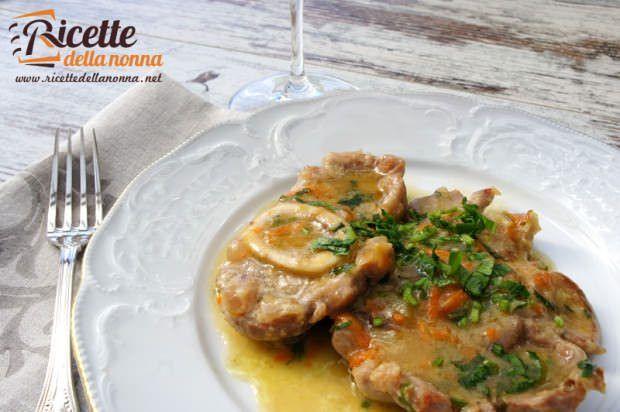 Ossibuchi in umido alla milanese ricetta e foto