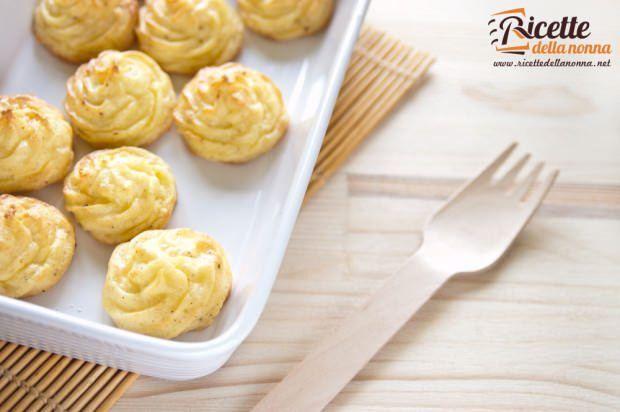 Patate duchessa ricetta e foto