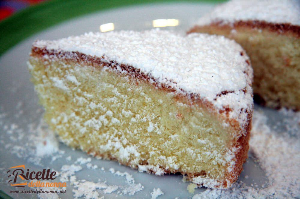 Torta paradiso ricette della nonna for Ricette torte semplici