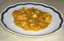Bocconcini di pollo con curry e paprika