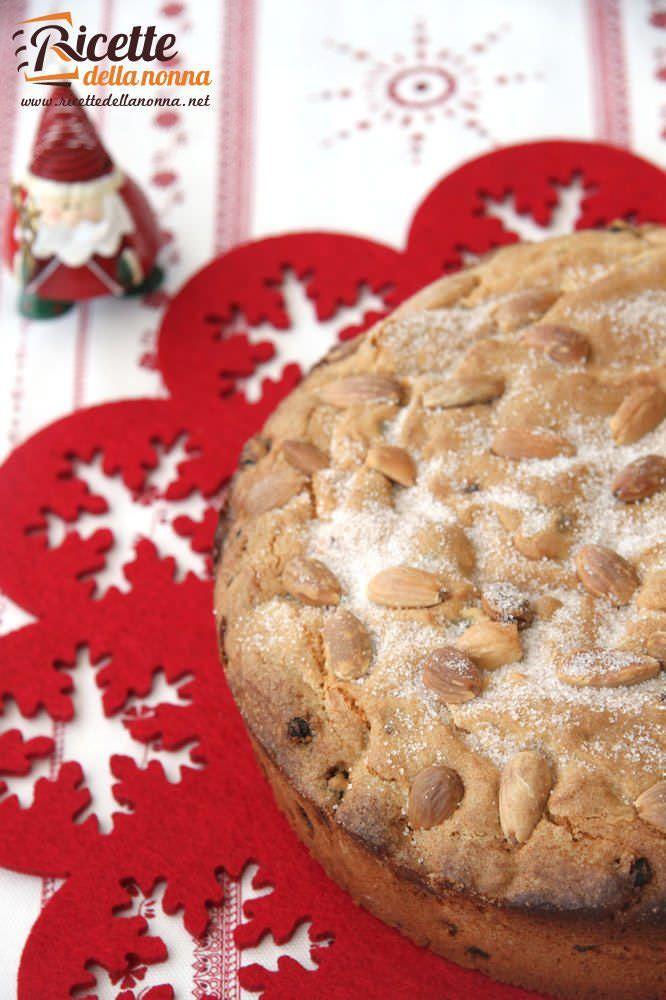 Pandolce di Natale ricetta e foto