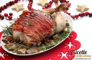 Tacchinella ripiena di Natale al forno