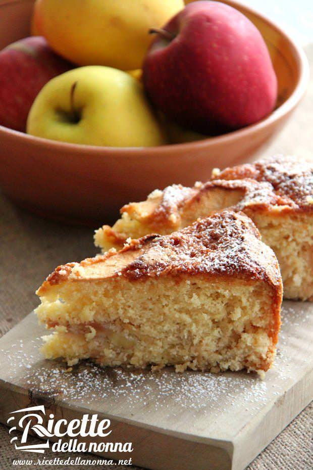 Torta di mele e clementine ricetta e foto