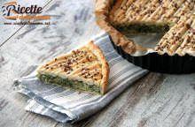 Torta salata con catalogna e speck