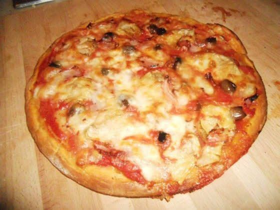 Pizza ai tre cereali ricetta e foto