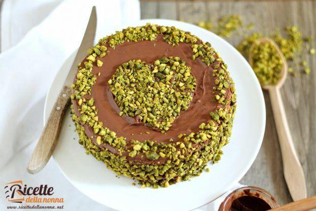 Torta Nutella e pistacchi ricetta e foto