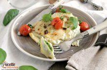 Ravioli di magro con cicoria e mozzarella gratinati al forno